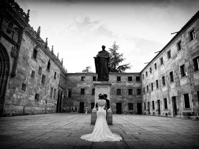 La boda de Elvira y Jonatan en Cabezabellosa, Cáceres 97