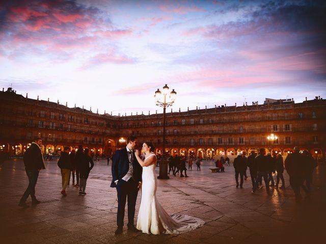 La boda de Elvira y Jonatan en Cabezabellosa, Cáceres 100