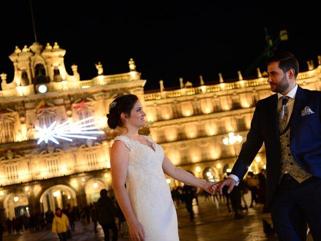 La boda de Elvira y Jonatan en Cabezabellosa, Cáceres 103