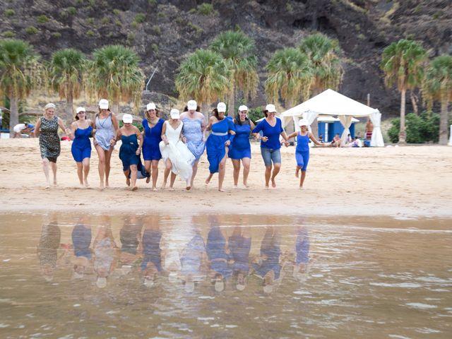 La boda de Jesús y Ruth en Puerto De La Cruz, Santa Cruz de Tenerife 100