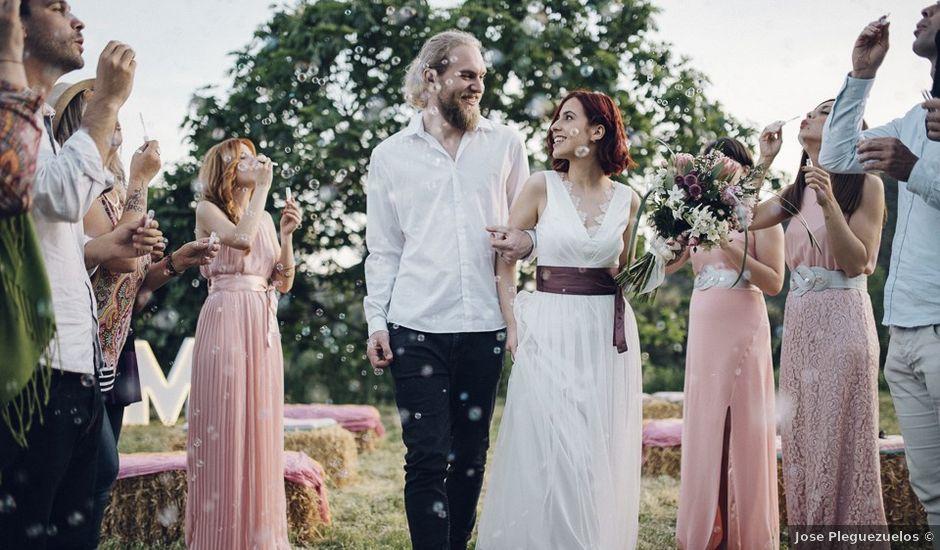 La boda de Mikkel y Ari en Llora, Girona