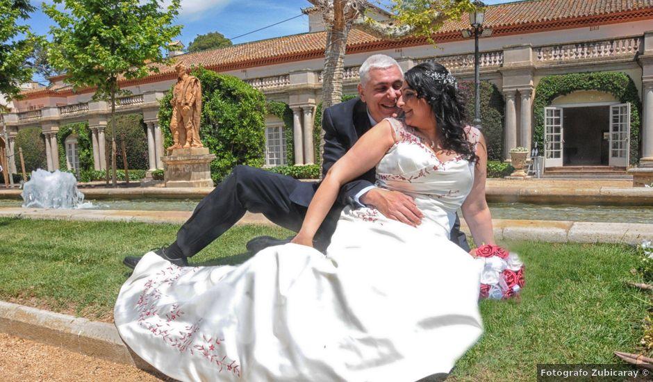 La boda de Manuel y Eva en Sant Pere De Ribes, Barcelona