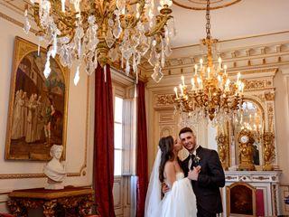 La boda de Raúl y Rebeca