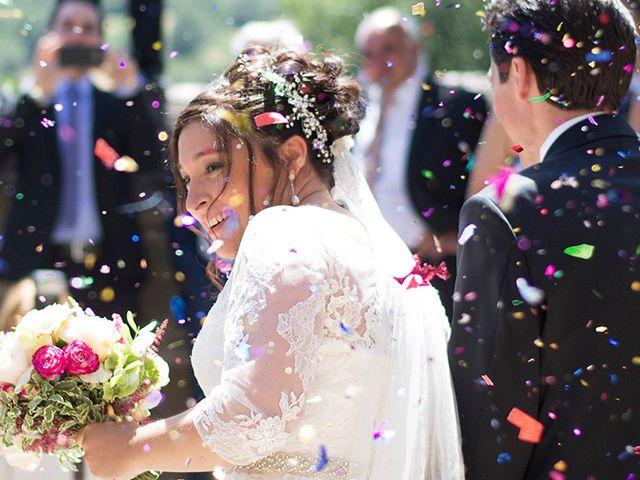 La boda de Laura y José Miguel