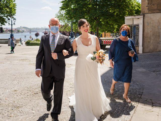 La boda de Rubén y Cristina en Portugalete, Vizcaya 7