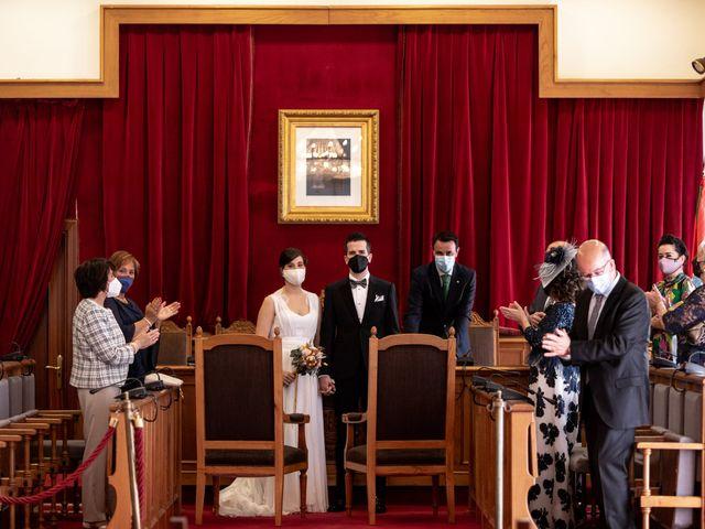 La boda de Rubén y Cristina en Portugalete, Vizcaya 12