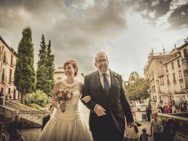 La boda de Ángel y Mª José en Granada, Granada 14