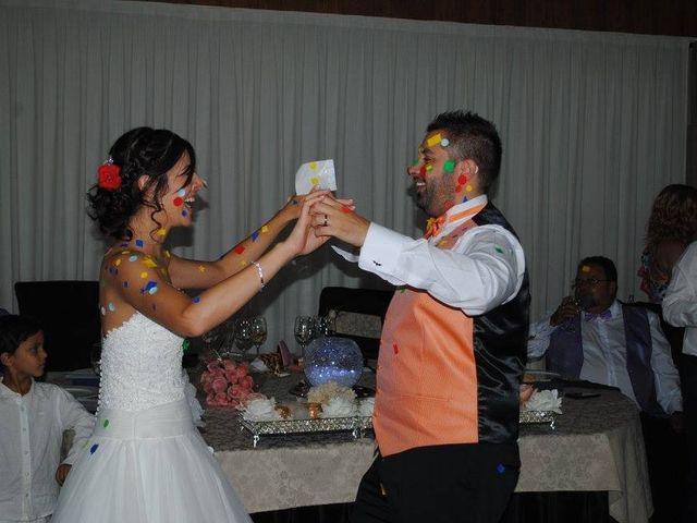 La boda de Borja y Laura  en Aldea Del Fresno, Madrid 1