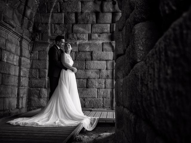 La boda de Antonio y María en Villagarcia De La Torre, Badajoz 1
