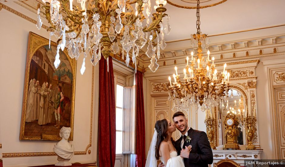 La boda de Rebeca y Raúl en Pedrola, Zaragoza