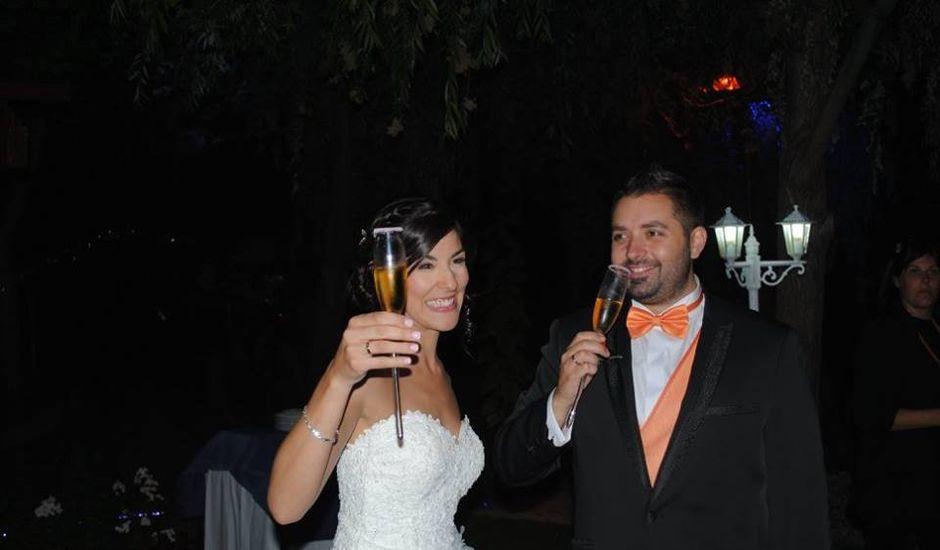 La boda de Borja y Laura  en Aldea Del Fresno, Madrid