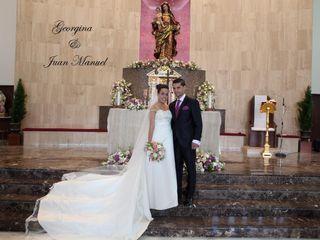 La boda de Georgina y Juan Manuel