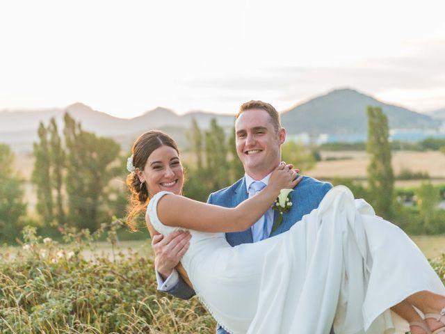 La boda de James y Izaro en Berrioplano, Navarra 8