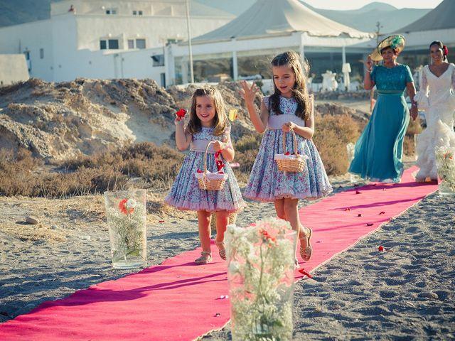 La boda de Fran y Carina en Los Escullos, Almería 5