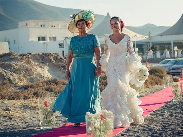 La boda de Fran y Carina en Los Escullos, Almería 6