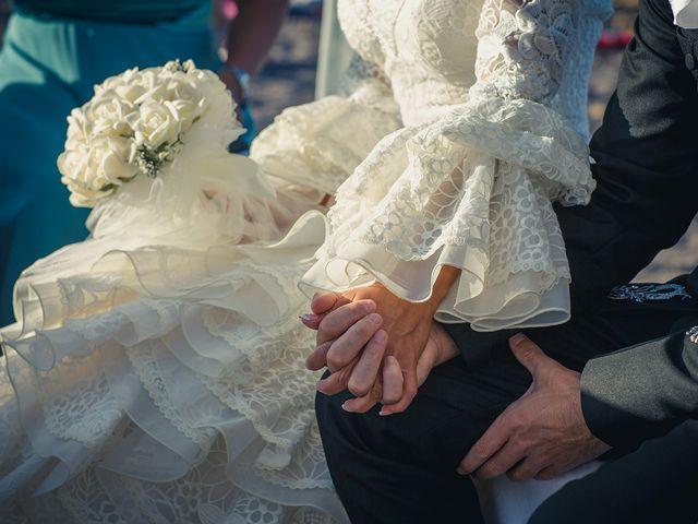 La boda de Fran y Carina en Los Escullos, Almería 7