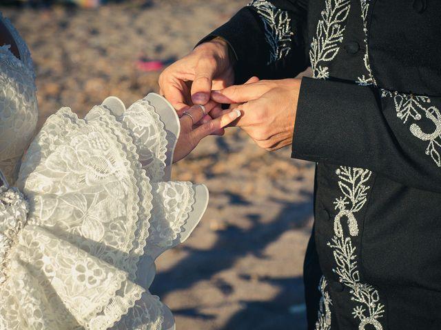 La boda de Fran y Carina en Los Escullos, Almería 9