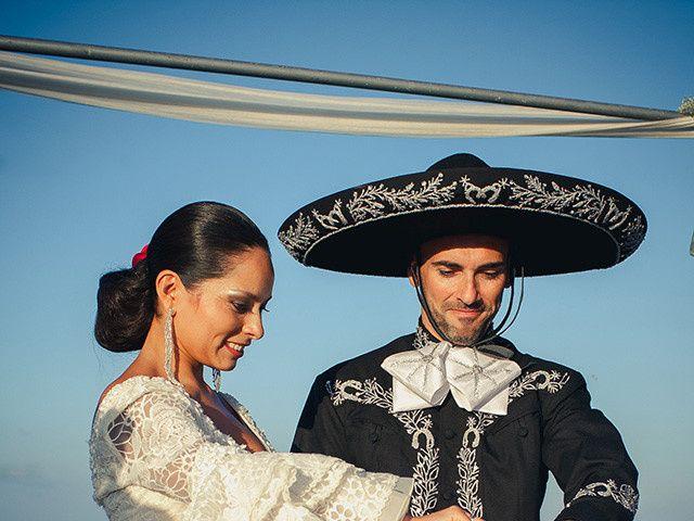 La boda de Fran y Carina en Los Escullos, Almería 10