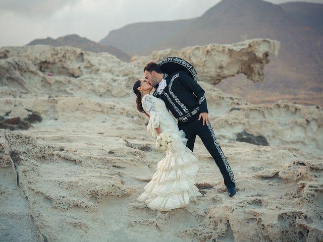 La boda de Fran y Carina en Los Escullos, Almería 18
