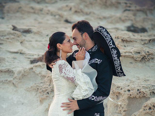 La boda de Fran y Carina en Los Escullos, Almería 19