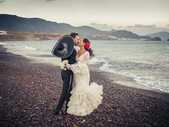 La boda de Fran y Carina en Los Escullos, Almería 20
