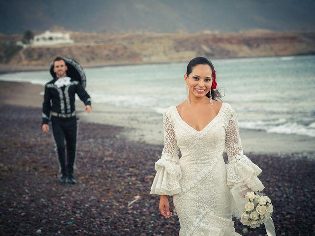 La boda de Fran y Carina en Los Escullos, Almería 23