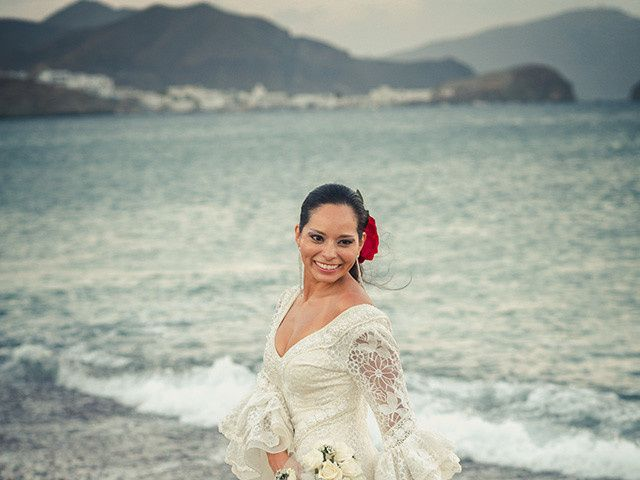 La boda de Fran y Carina en Los Escullos, Almería 24