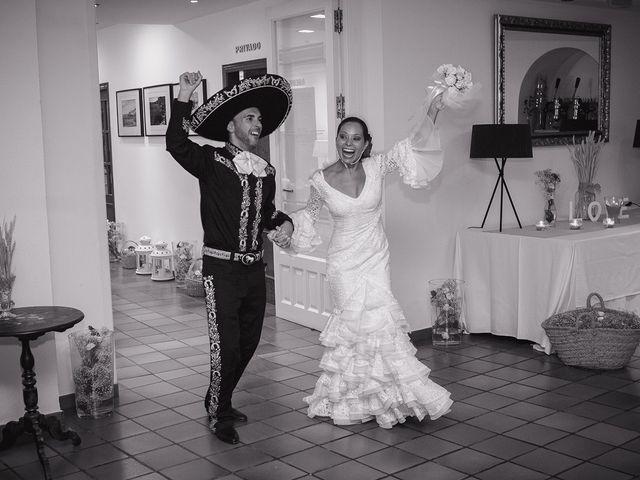 La boda de Fran y Carina en Los Escullos, Almería 27