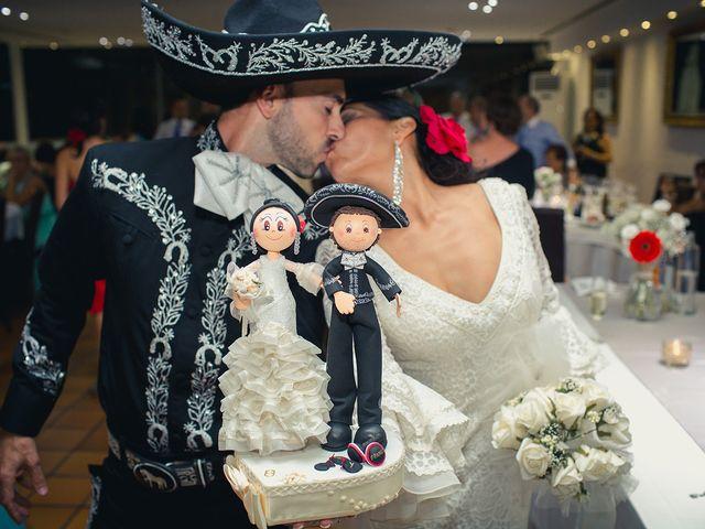 La boda de Fran y Carina en Los Escullos, Almería 36