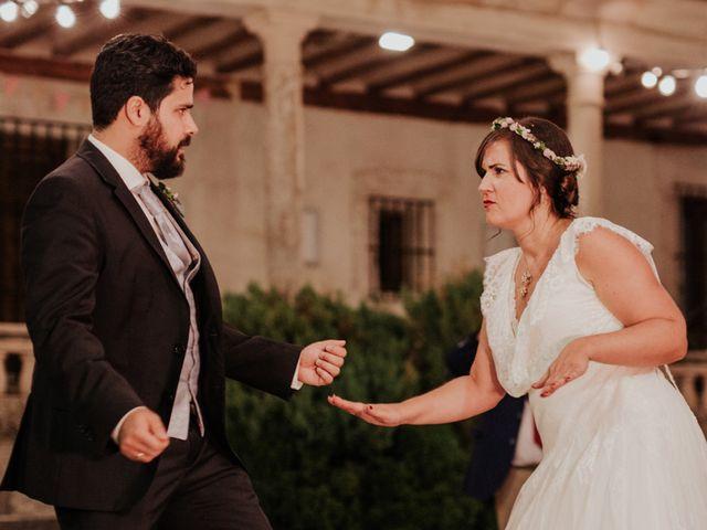 La boda de Kim y Solange en Sotos De Sepulveda, Segovia 105