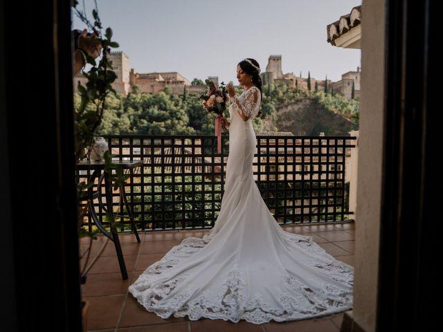 La boda de Eder y Cristela en Otura, Granada 2