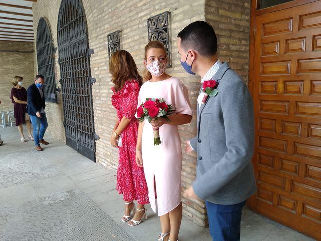 La boda de Javier y Delia en Arguedas, Navarra 2