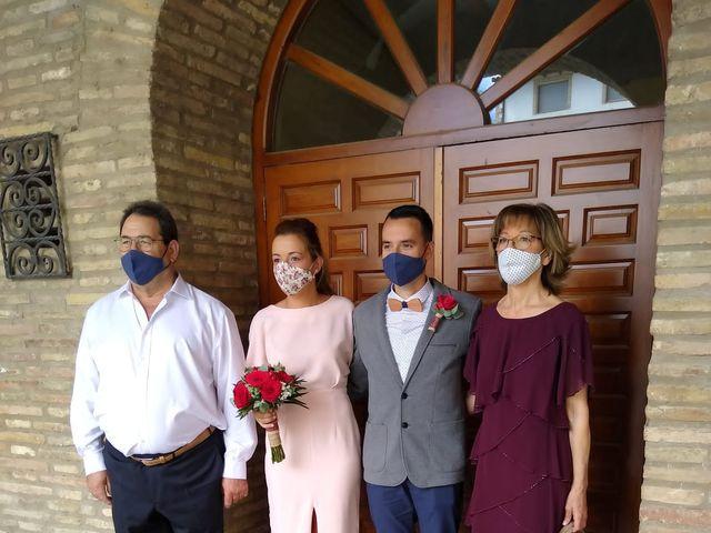 La boda de Javier y Delia en Arguedas, Navarra 4