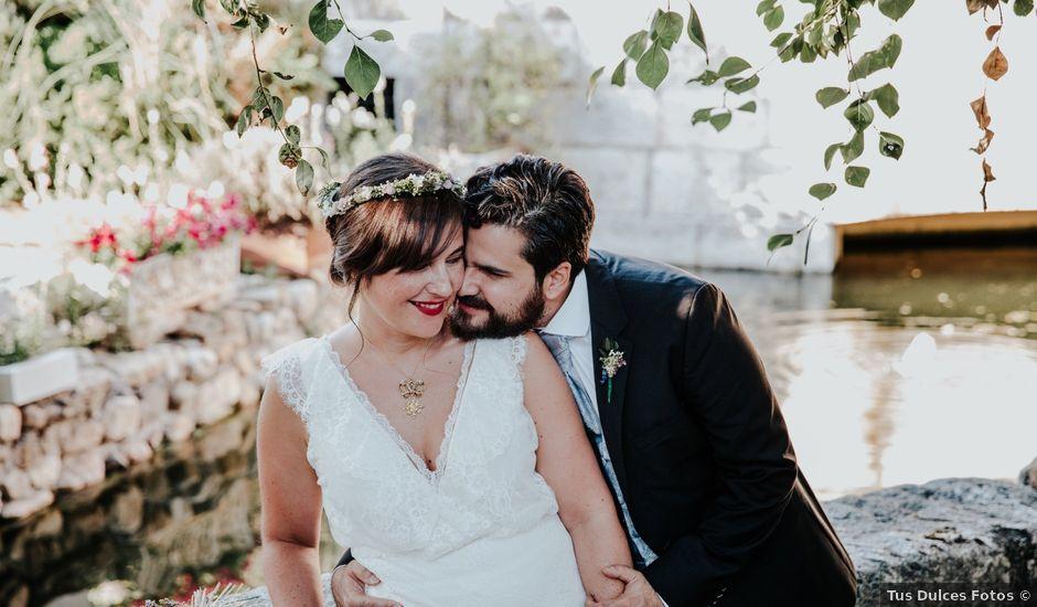 La boda de Kim y Solange en Sotos De Sepulveda, Segovia