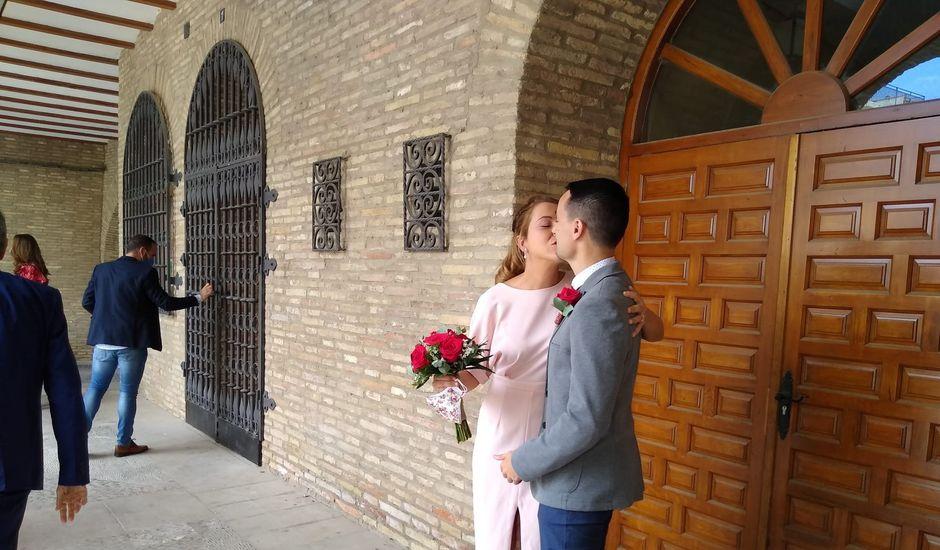 La boda de Javier y Delia en Arguedas, Navarra