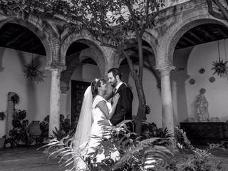 La boda de Gisela y César