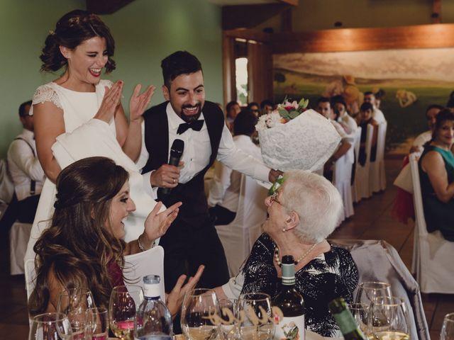 La boda de Julen y María en Laguardia, Álava 100