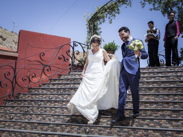 La boda de Javier y Cristina en Purullena, Granada 15