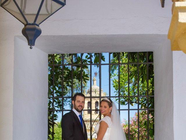 La boda de César y Gisela en La Victoria, Córdoba 1