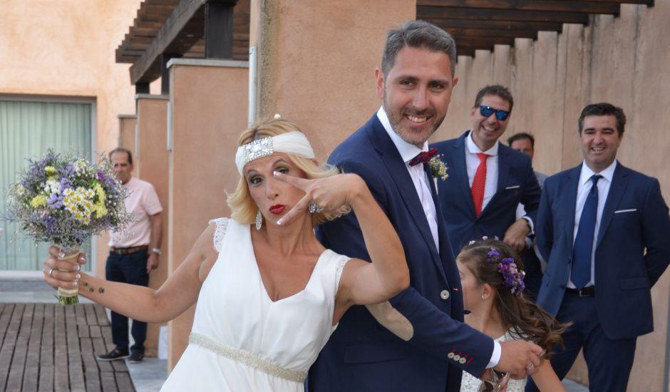 La boda de Ramón y Sara en La Calera, Burgos