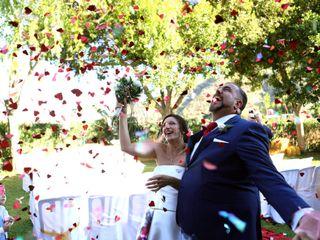 La boda de Paz y Rafa