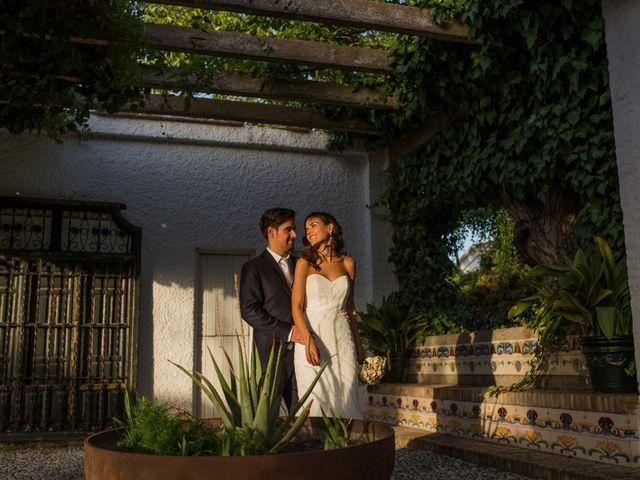 La boda de Diego y Cristina en Granada, Granada 10