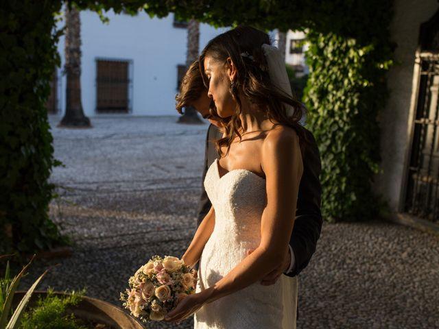 La boda de Diego y Cristina en Granada, Granada 13