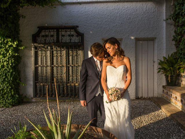 La boda de Diego y Cristina en Granada, Granada 14