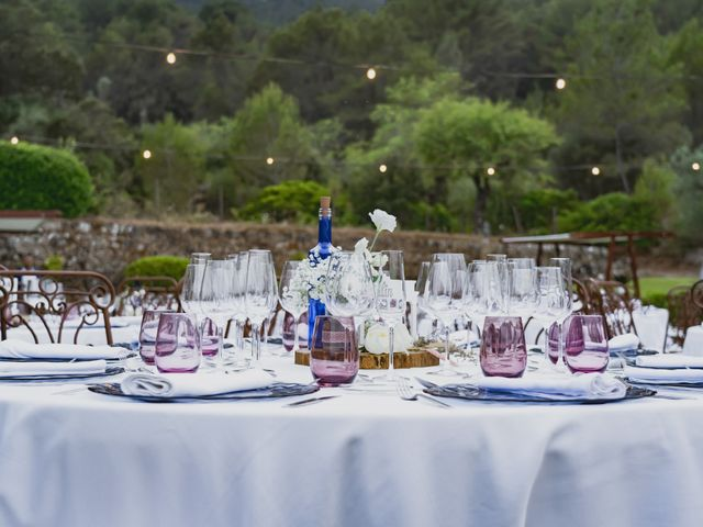 La boda de Alberto y Virginia en Puigpunyent, Islas Baleares 33