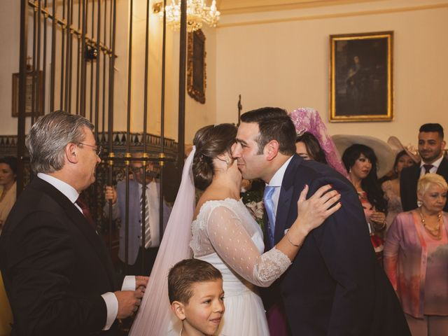 La boda de Jon y María Fernanda en Villafranca De Los Barros, Badajoz 32