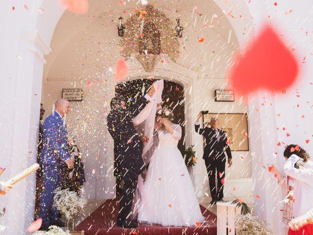 La boda de Jon y María Fernanda en Villafranca De Los Barros, Badajoz 48