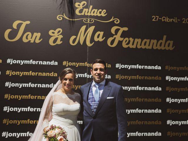 La boda de Jon y María Fernanda en Villafranca De Los Barros, Badajoz 59
