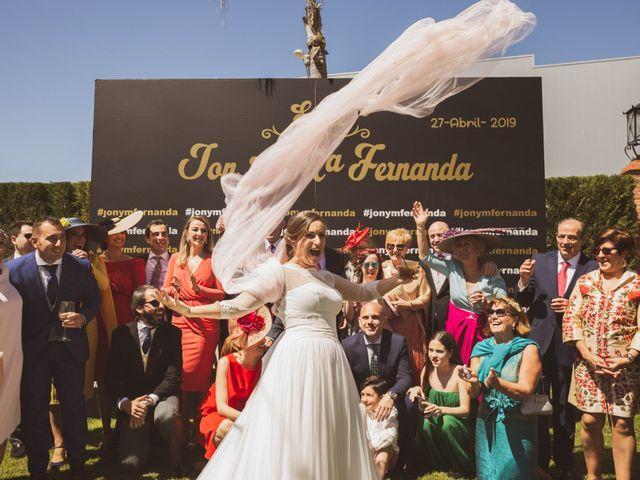 La boda de Jon y María Fernanda en Villafranca De Los Barros, Badajoz 60
