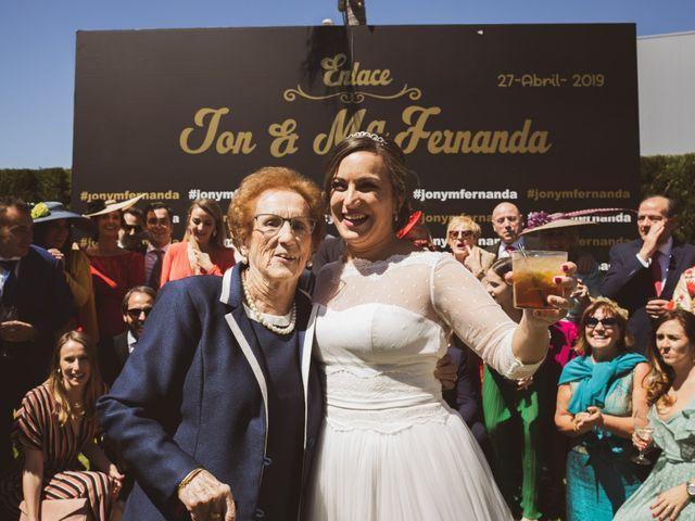 La boda de Jon y María Fernanda en Villafranca De Los Barros, Badajoz 61
